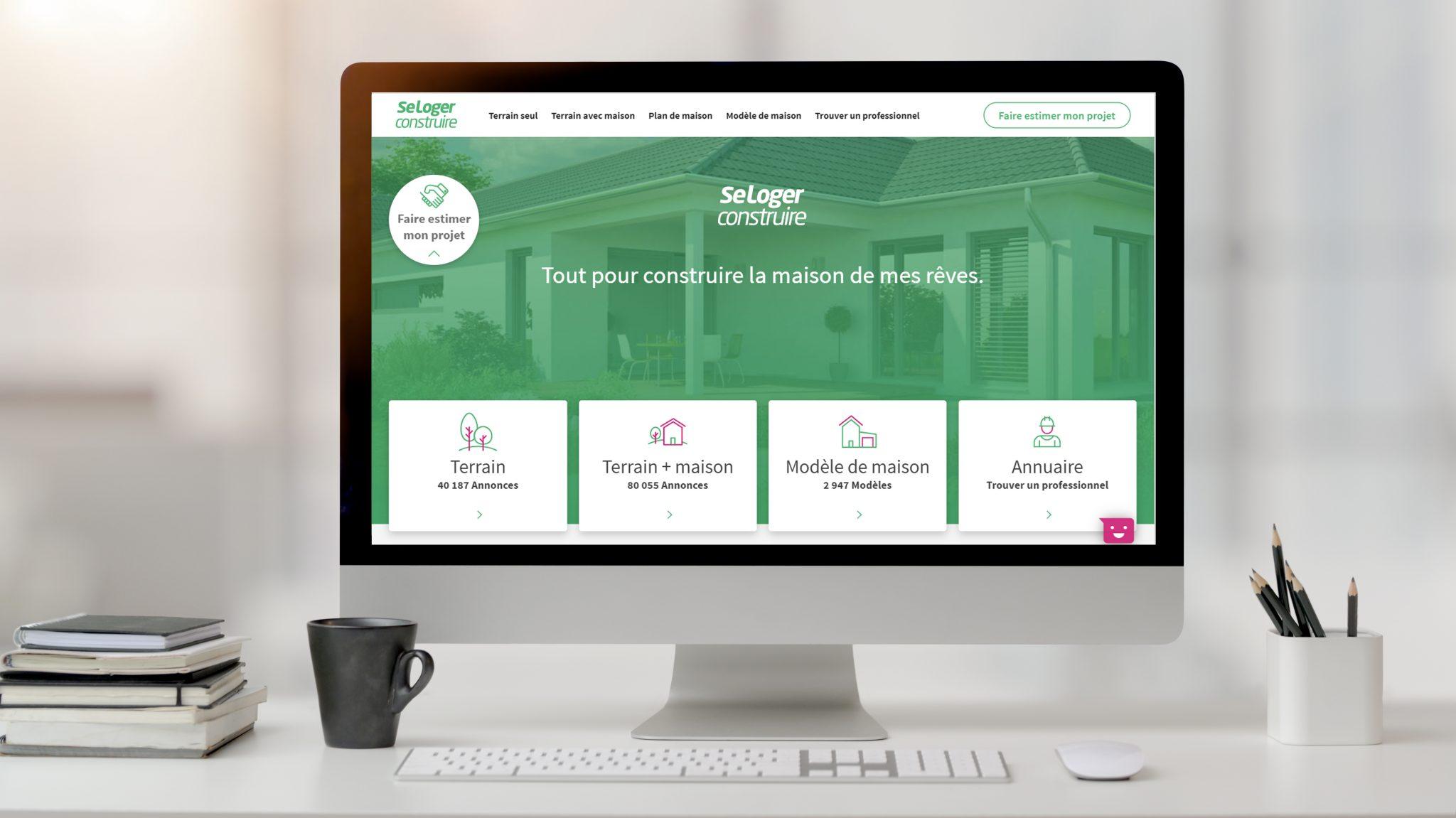 Des nouveautés sur SeLoger construire, qui valorisent toujours plus votre marque